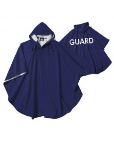 Guard Hooded Poncho - Color - Navy