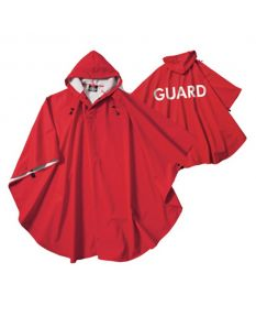 Guard Hooded Poncho