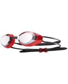Blackhawk Racing Mirrored Goggles - Color - Silver/Red
