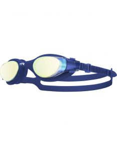 TYR Vesi Mirrored Goggles-Gold/Navy