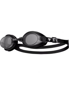 TYR Qualifier Youth Swim Goggle - Color - Smoke/Black