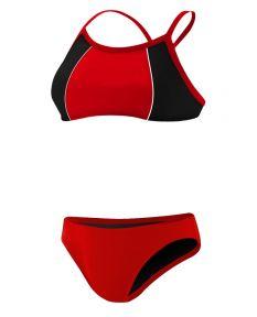 RISE Solid Poly Splice Bikini
