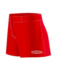 RISE Supervisor Female Flex Shorts-Red-XSmall