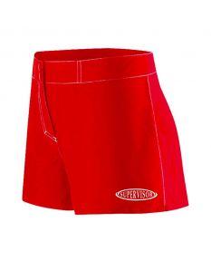 RISE Supervisor Female Flex Shorts-Red-XSmall