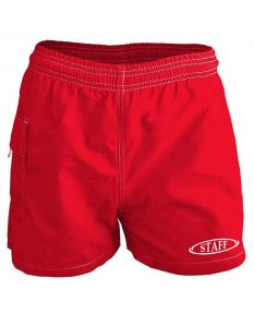 RISE Staff Female Flex Board Short-Red-XSmall