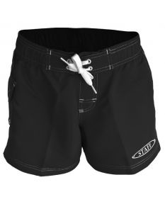 RISE Staff Female Flex Short-Black-XSmall