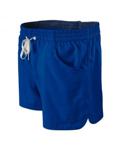 Solid Female Roll Short Color: Royal/Navy Size: XSmall