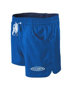 RISE Guard Female Roll Short-Royal/Navy-XSmall