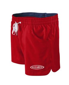 RISE Guard Female Roll Short-Red/Navy-XSmall