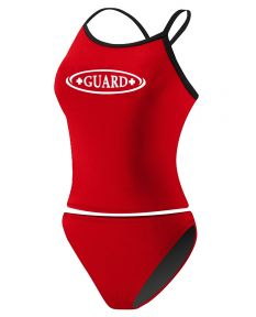 RISE Guard Poly 2-Piece Color Trim Tankini
