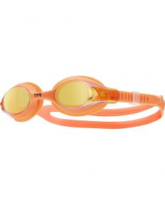 TYR Kids' Swimple Mirrored Goggle - Color - Manic Mango