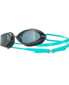 TYR Tracer X Racing Nano Goggles-Turquoise/Black