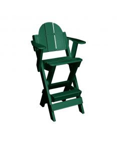 Lifeguard Chair-With Arms - Color - Forest