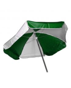 Lifeguard Umbrella - Color - Green/White
