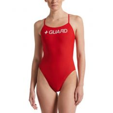 Women's Nike Swim Guard Cut-Out One Piece