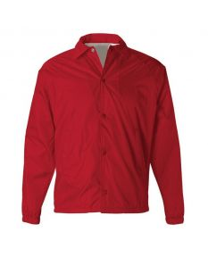 Nylon Guard Jacket-Red-Small
