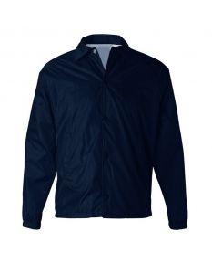 Nylon Guard Jacket-Navy-Small