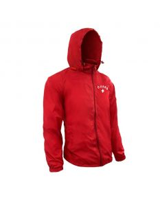 RISE Guard Waterproof Jacket - Color - Red,Size - Small