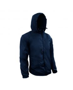 RISE Solid Waterproof Jacket - Color - Navy,Size - XSmall