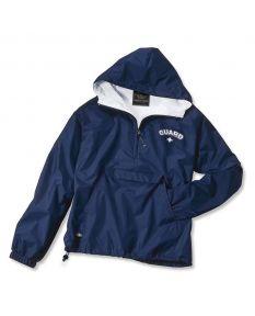 Guard Pullover Jacket-Navy-Small-No