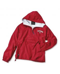 Guard Pullover Jacket-Red-Small-No