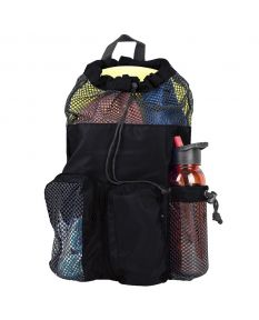 RISE Solid Mesh Equipment Bag-Black/Black