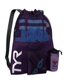 TYR Big Mesh Mummy Backpack - Color - Purple
