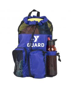 YMCA Guard Mesh Equipment Bag - Color - Navy/Black