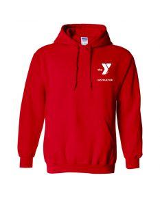 YMCA Instructor Sweatshirt-Red-Small
