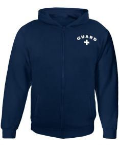 RISE Guard Zip Hoodie - Color - Navy,Size - Small