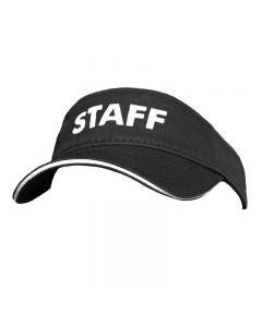 RISE Staff Visor - Color - Black