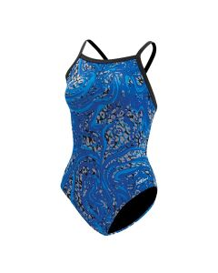 Dolfin Hurricane V2 Back Swimsuit-Blue-22