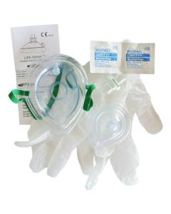 Adult/Infant Pocket Mask Kit without Case