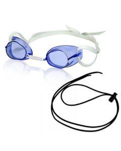 RISE Swedish Pro Goggle w/ Black Bungee - Color - Blue