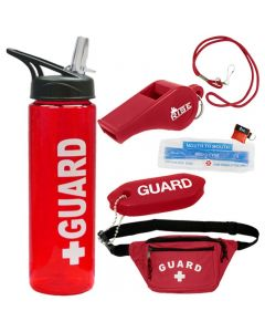 Lifeguard Kit With Water Bottle