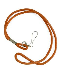 Nylon Neck Lanyard - Color - Orange