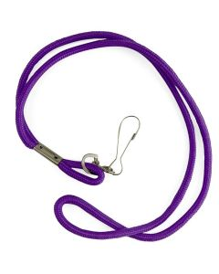 Nylon Neck Lanyard - Color - Purple