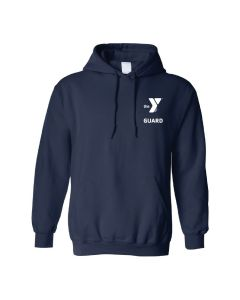 YMCA Standard Guard Hooded Sweatshirt-Navy-Small