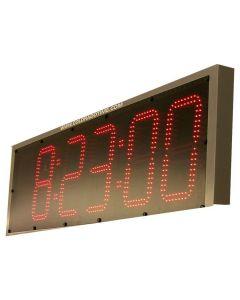 6-Digit Slim Pace Clock