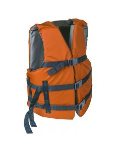 RISE Adult Life Vest-Rustic Orange-Oversize
