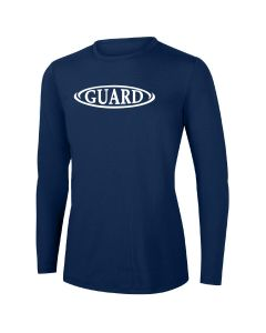 RISE Guard Long Sleeve Crew Neck Rashguard-Navy-XSmall
