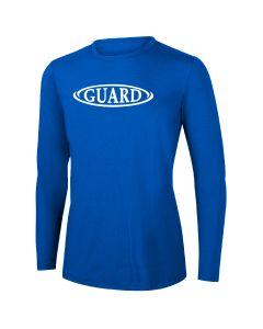 RISE Guard Long Sleeve Crew Neck Rashguard-Royal-XSmall