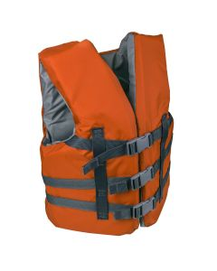 RISE Youth Life Vest  - Color - Rustic Orange