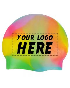 Custom Printed Silicone Caps-Multi-1-Color Logo