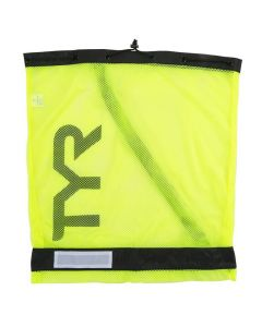TYR Mesh Equipment Bag-Fl. Yellow
