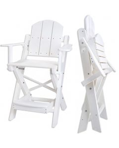 "Kiefer 30"" Folding Forever Guard Chair"
