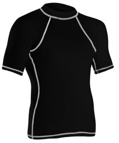 RISE Solid Short Sleeve Rashguard