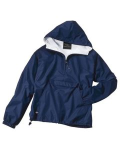 Charles River Adult Solid Hooded Pullover