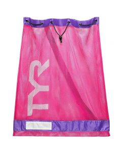 TYR Mesh Equipment Bag-Pink/Purple