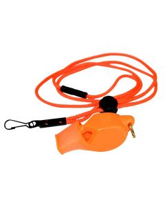 Fox 40 Eclipse Whistle Plus Lanyard-Orange